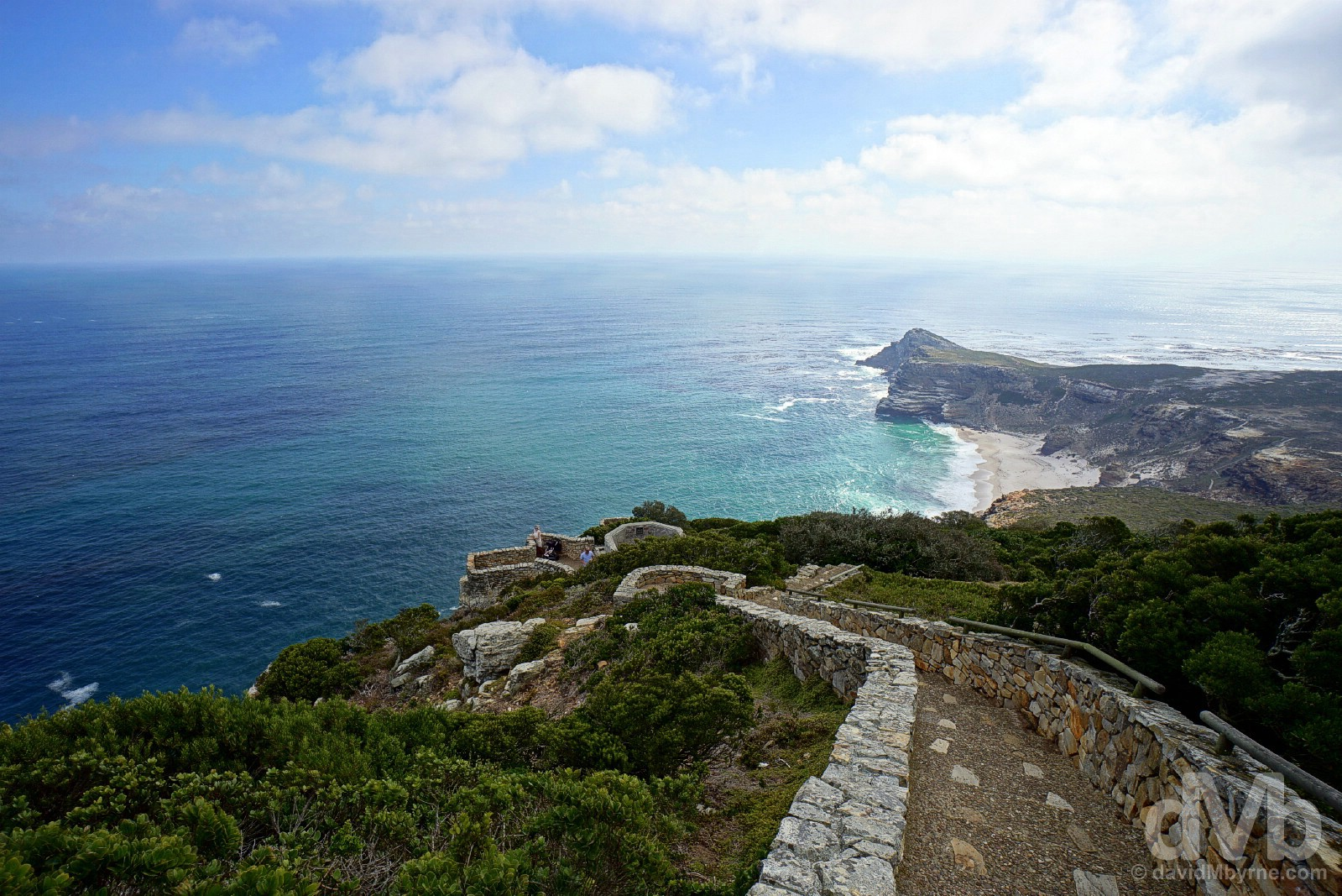 Scenery at Cape Point, Cape Peninsula, Western Cape, South Africa. February 17, 2017.