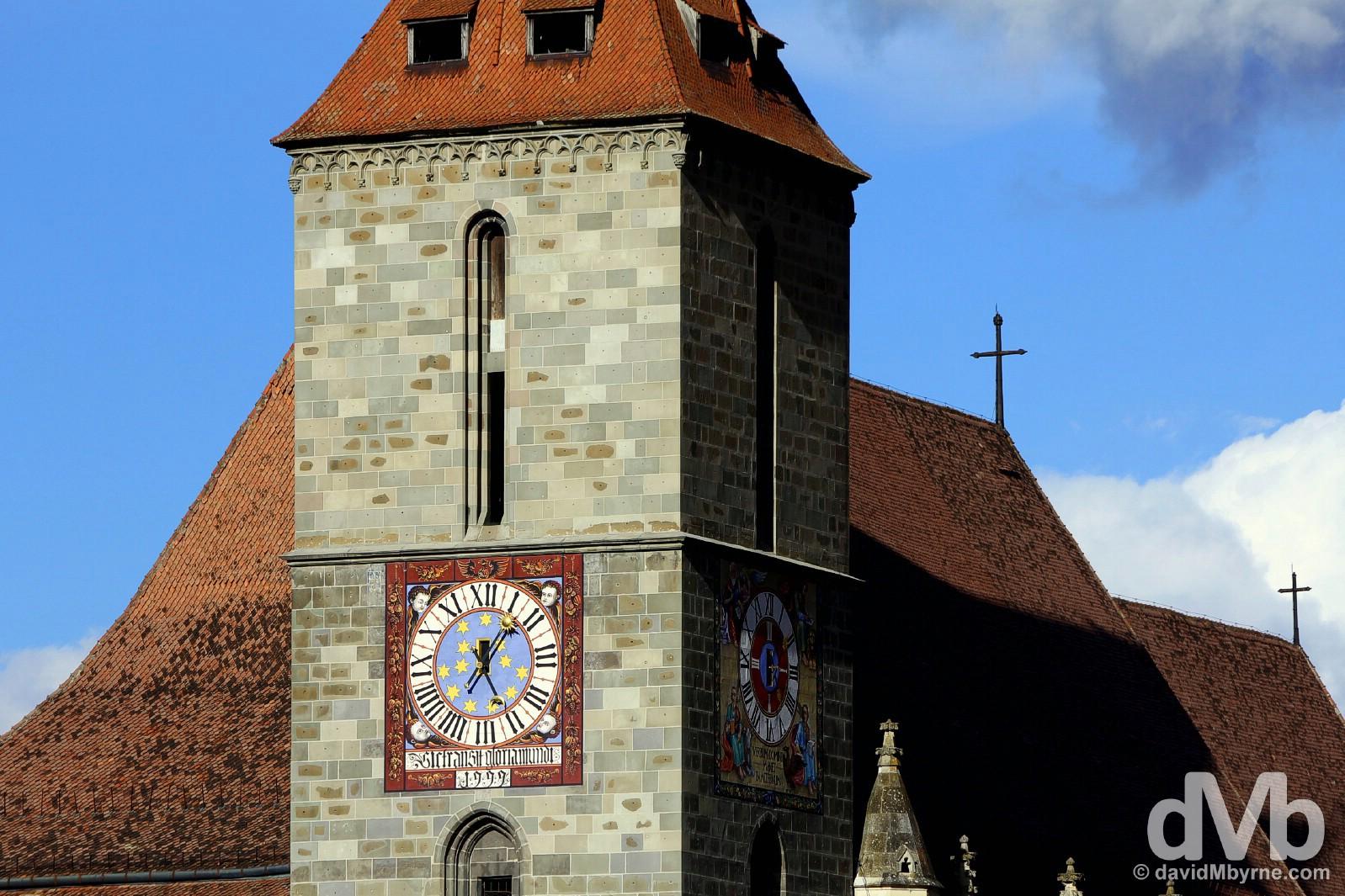 Biserica Neagra, the Black Church, Brasov, Romania. April 2, 2015.