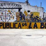 La Boca, Buenos Aires, Argentina. December 6, 2015.