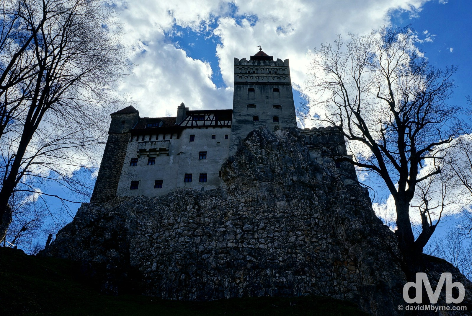Bran Castle, Bran, Transylvania, Romania. April 2, 2015.