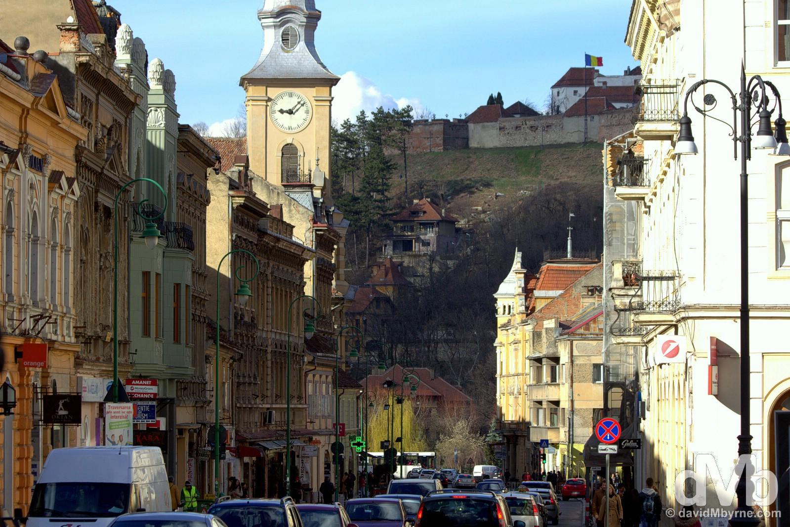 Brasov, Romania. April 2, 2015.