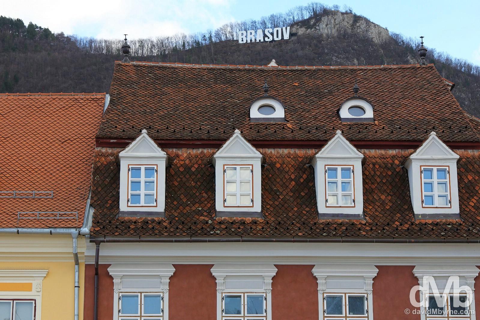 Brasov, Transylvania, Romania. April 2, 2015.
