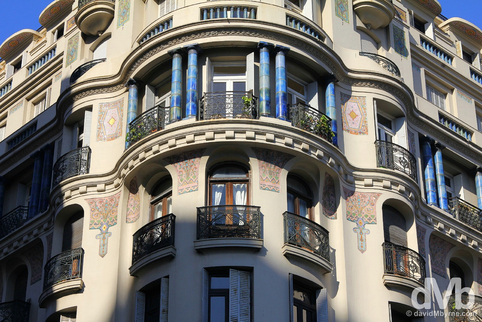 A building in Montevideo, Uruguay. September 18, 2015.