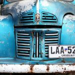 Rusting on the streets of Colonia Del Sacramento, Uruguay. December 7, 2015.