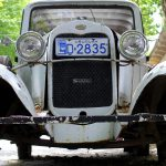 Old Ford. Colonia Del Sacramento, Uruguay. December 7, 2015.