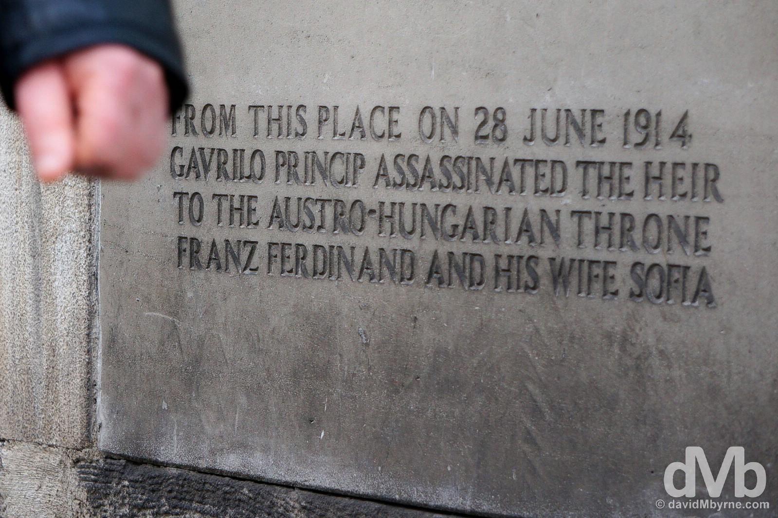 History. Sarajevo, Bosnia and Herzegovina. April 4, 2015.