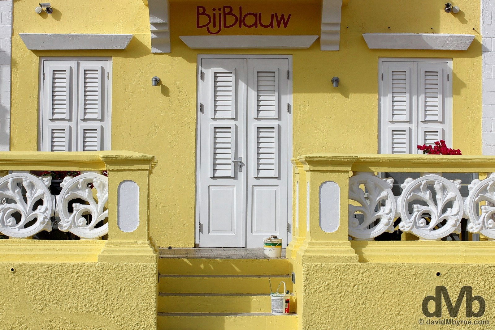 BijBlauw, Kaya Wilson Godett, Willemstad, Curacao, Lesser Antilles. June 20, 2015.