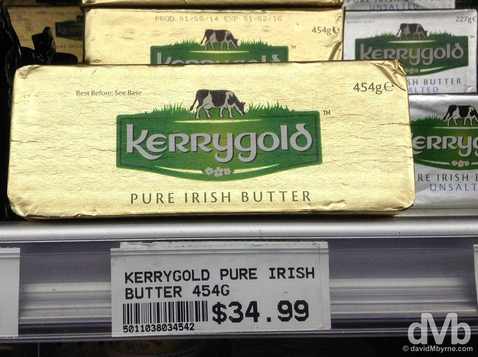 Kerrygold. Port of Spain, Trinidad & Tobago, Lesser Antilles. June 17, 2015.