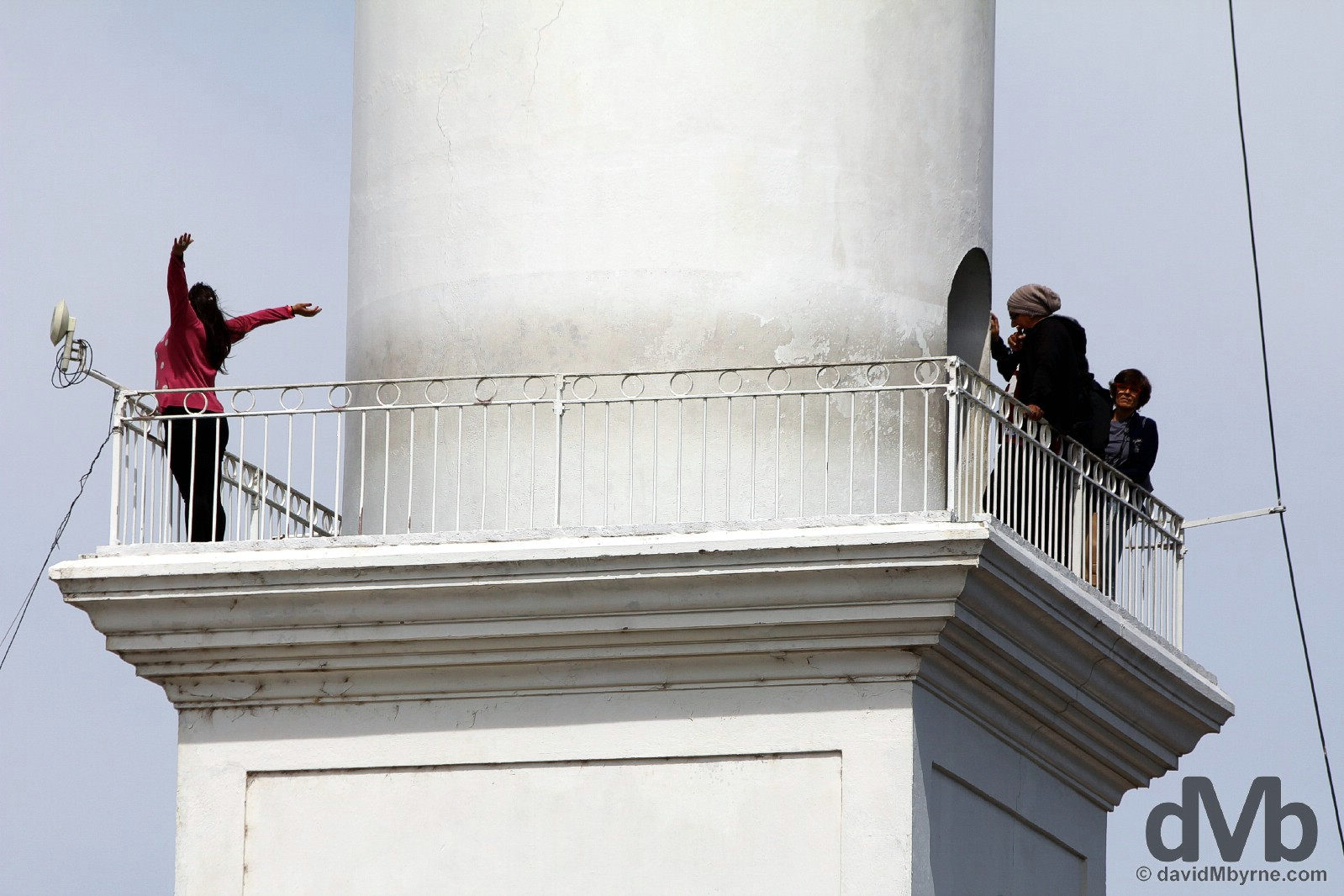 Colonia del Sacramento Lighthouse, Colonia del Sacramento, Uruguay. September 20, 2015.