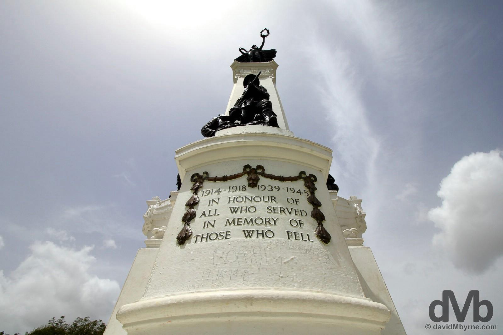 Memorial Park, Port of Spain, Trinidad & Tobago. June 17, 2015.