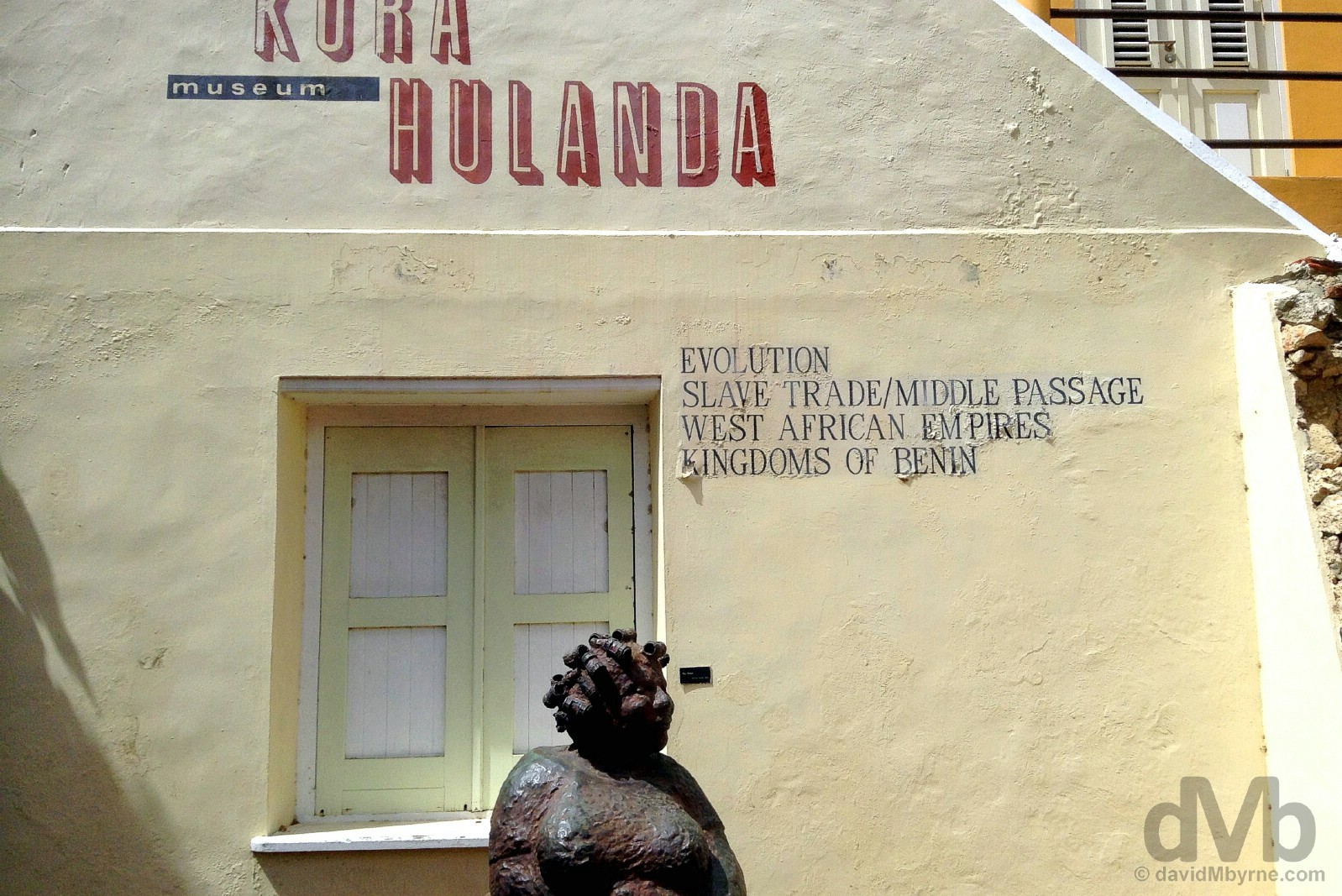 Museum Kura Hulanda, Otrobanda, Willemstad, Curacao, Lesser Antilles. June 20, 2015.