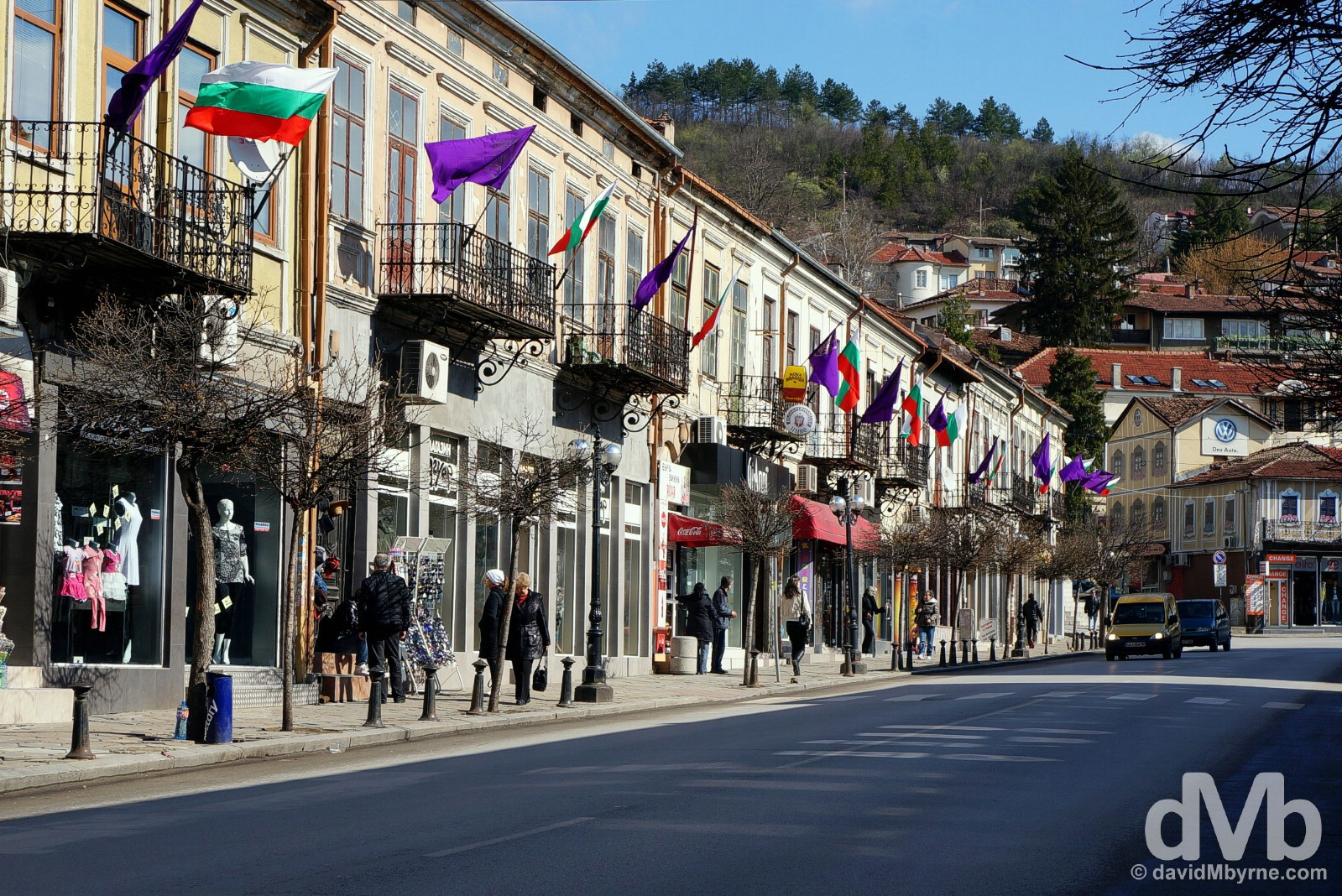 Nezavisimost, Veliko Tarnovo, Bulgaria. March 31, 2015.