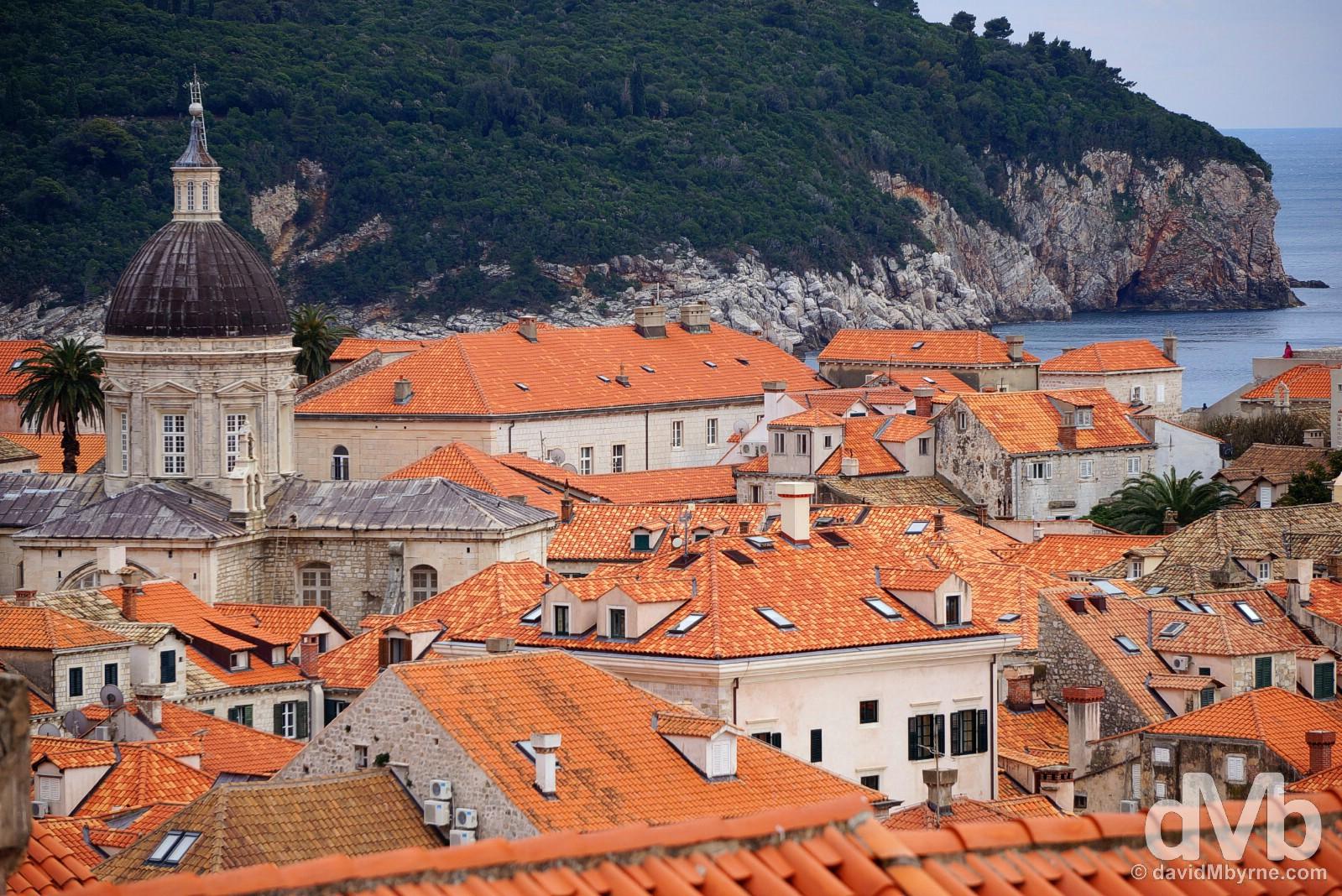 Old Town, Dubrovnik, Croatia. April 6, 2015.