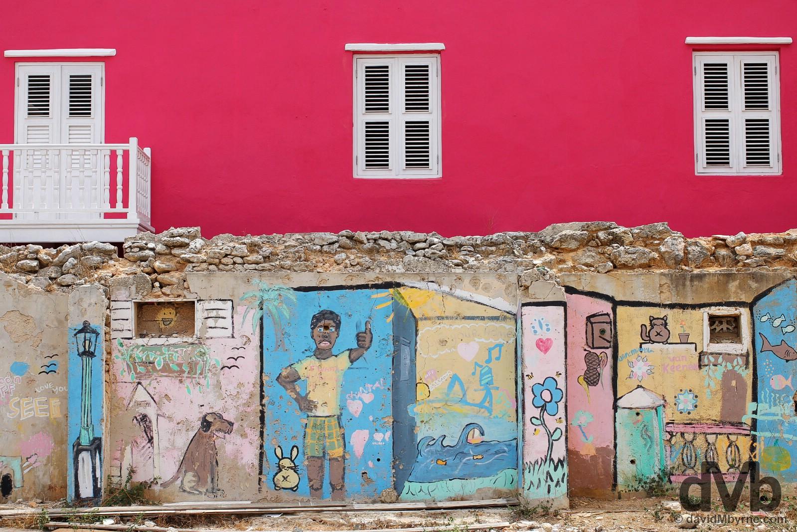 Otrobanda, Willemstad, Curacao, Lesser Antilles. June 19, 2015.