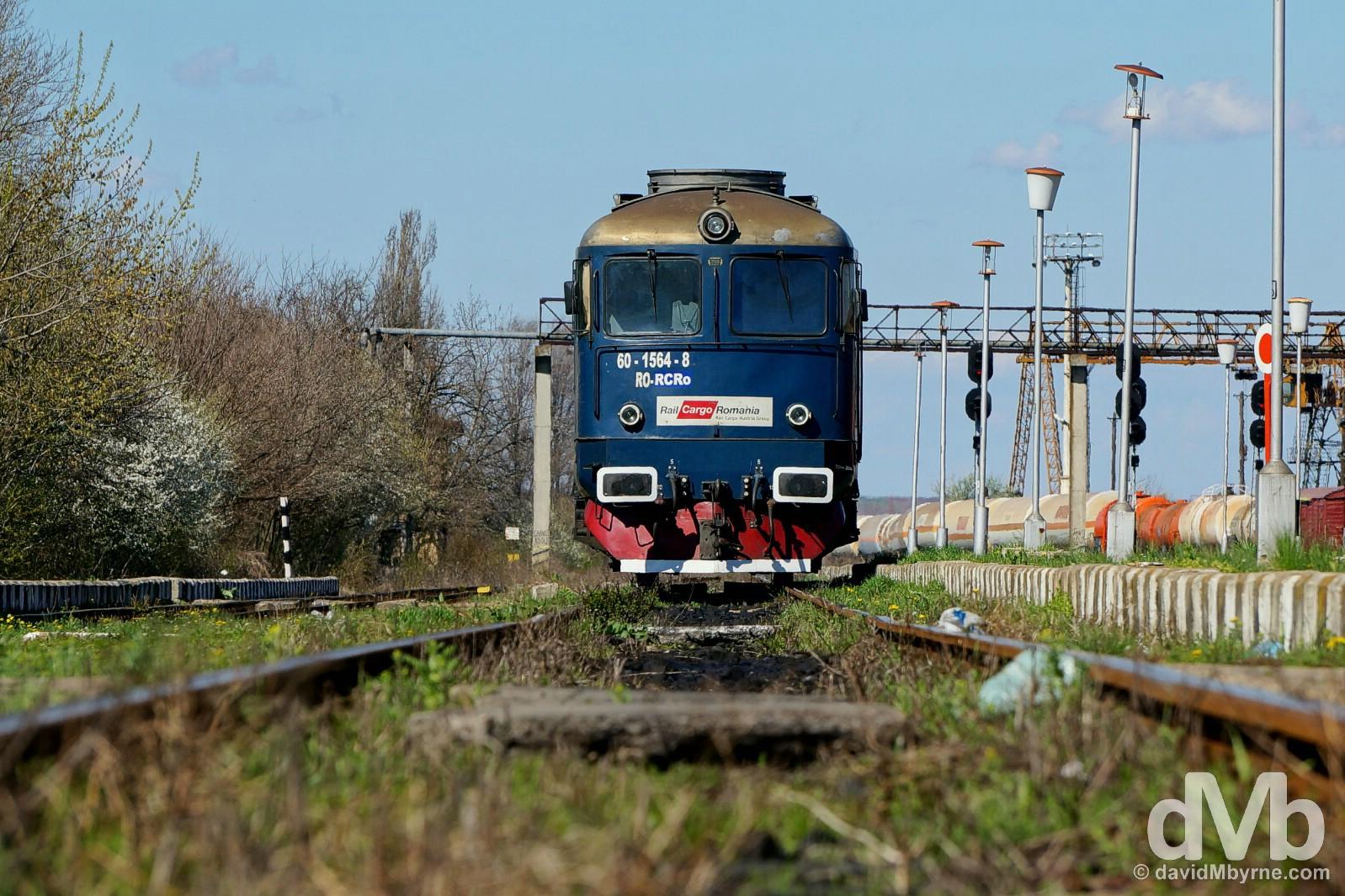Riding the Balkan rails. Veliko Tarnovo, Bulgaria, to Bucharest, Romania. March 31, 2015.
