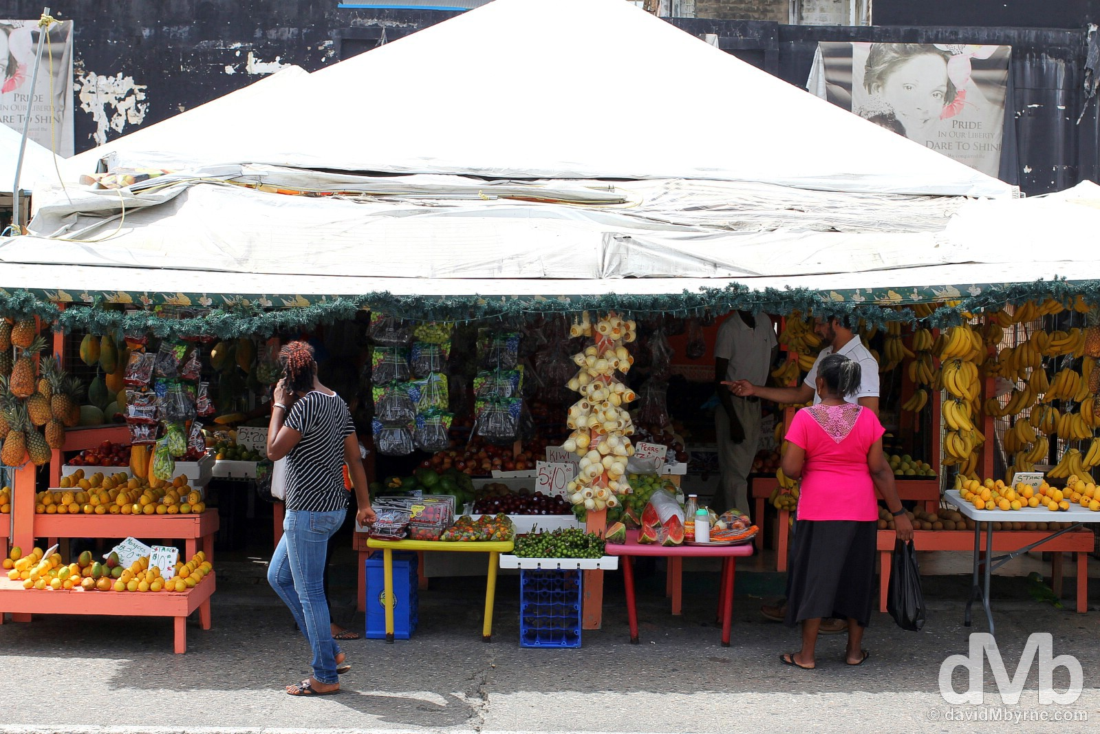 Port of Spain, Trinidad & Tobago, Lesser Antilles. June 18, 2015.