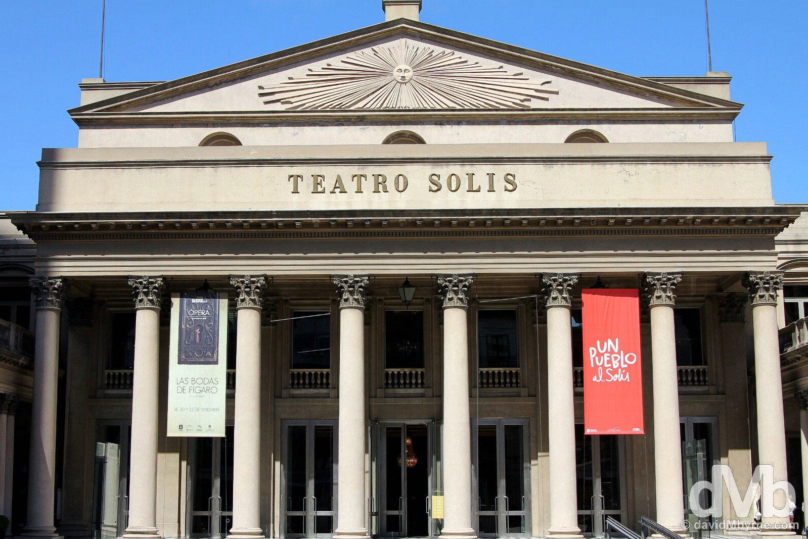 Teatro Solis, Montevideo, Uruguay. September 18, 2015.