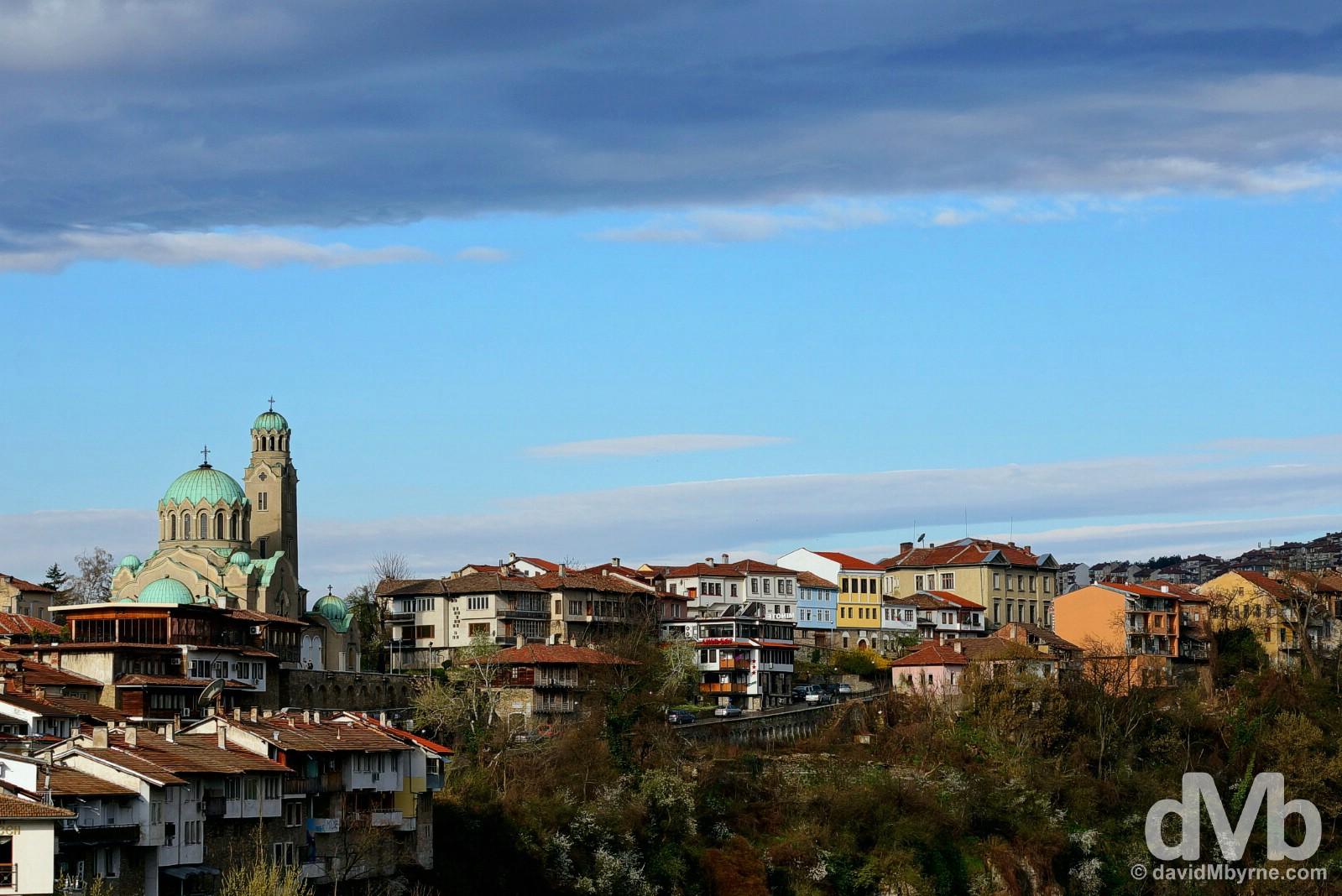 Veliko Tarnovo, Bulgaria. March 31, 2015.
