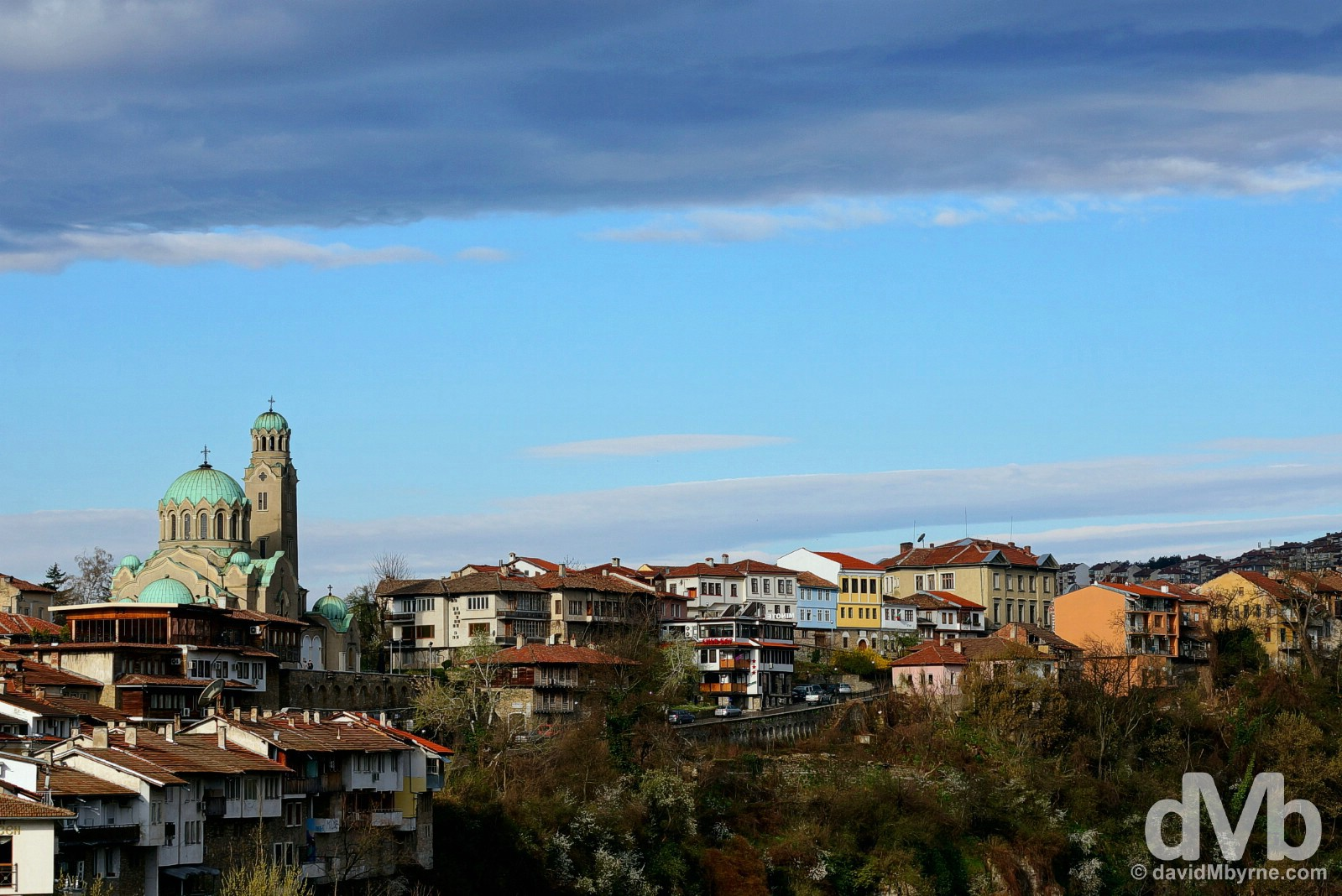 Veliko Tarnovo, Bulgaria. March 31, 2015.