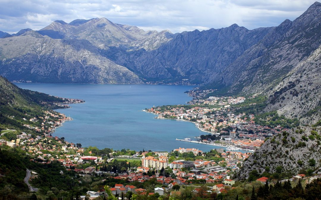 The Bay of Kotor, Montenegro