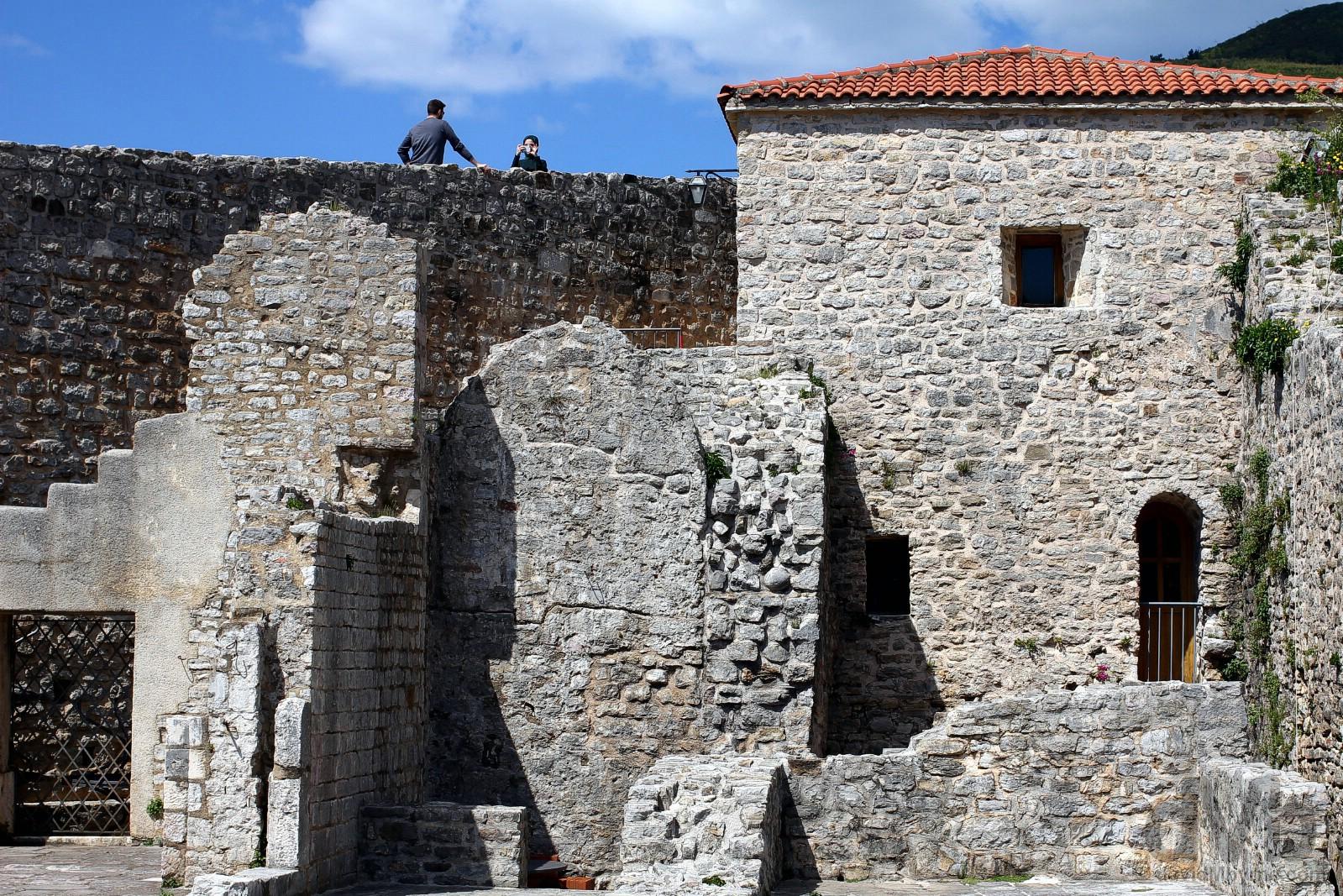 Citadela Fortress, Stari Grad (Old Town), Budva, Montenegro. April 21, 2017.