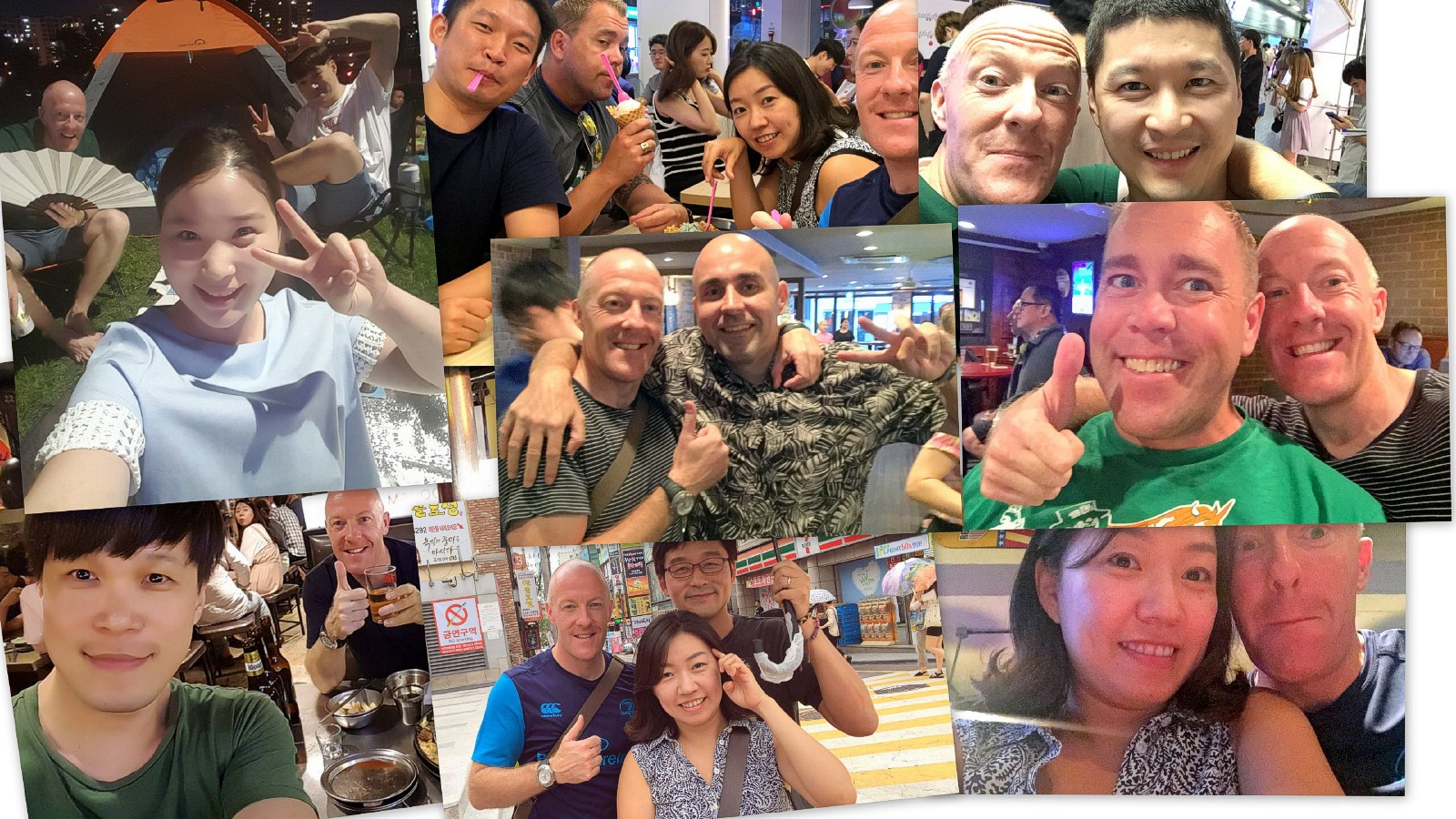 Korea friends for life.