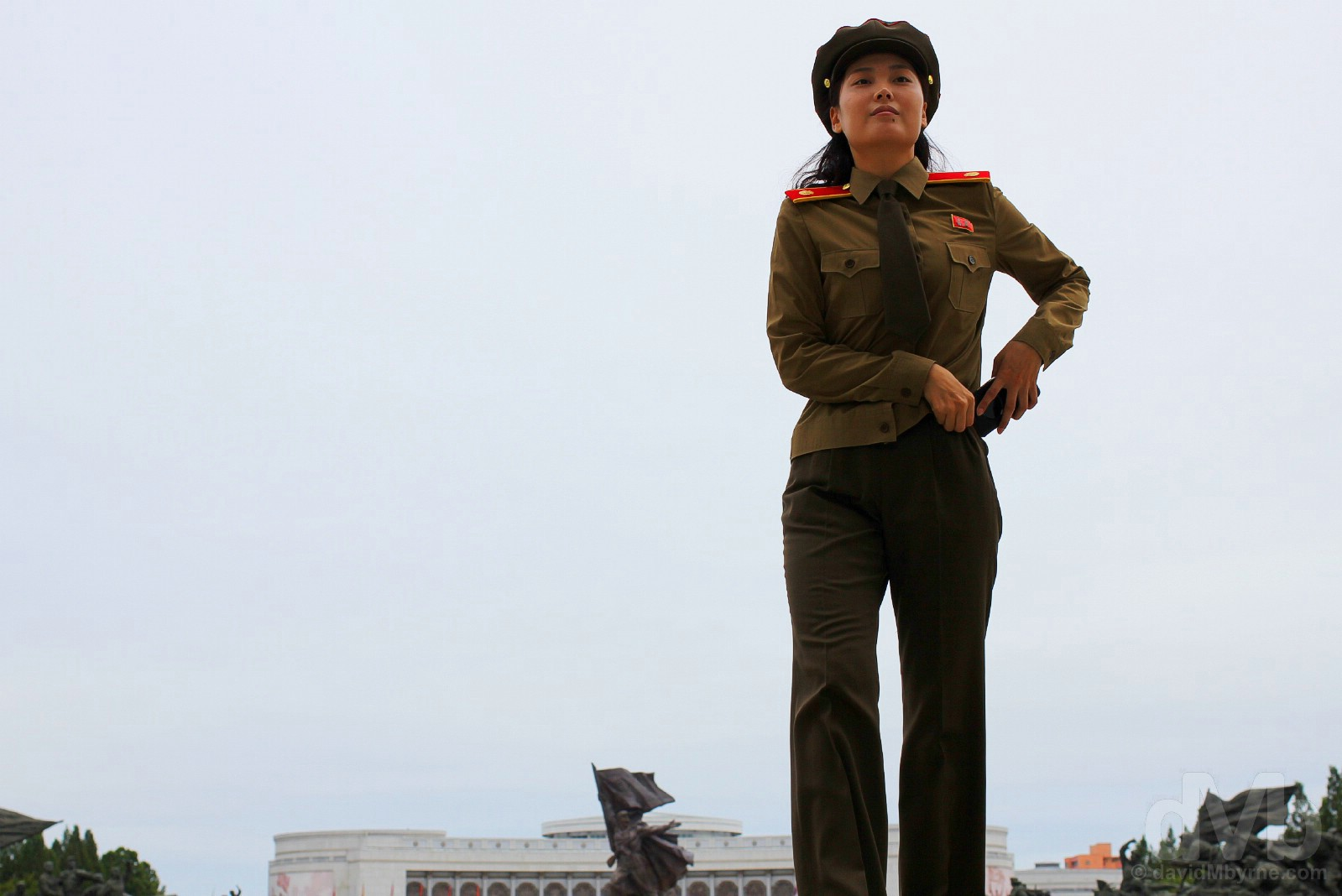 The Victorious Fatherland Liberation War Museum, Pyongyang, North Korea. August 16, 2017.