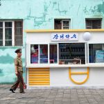 Somun Street, Pyongyang, North Korea. August 15, 2017.