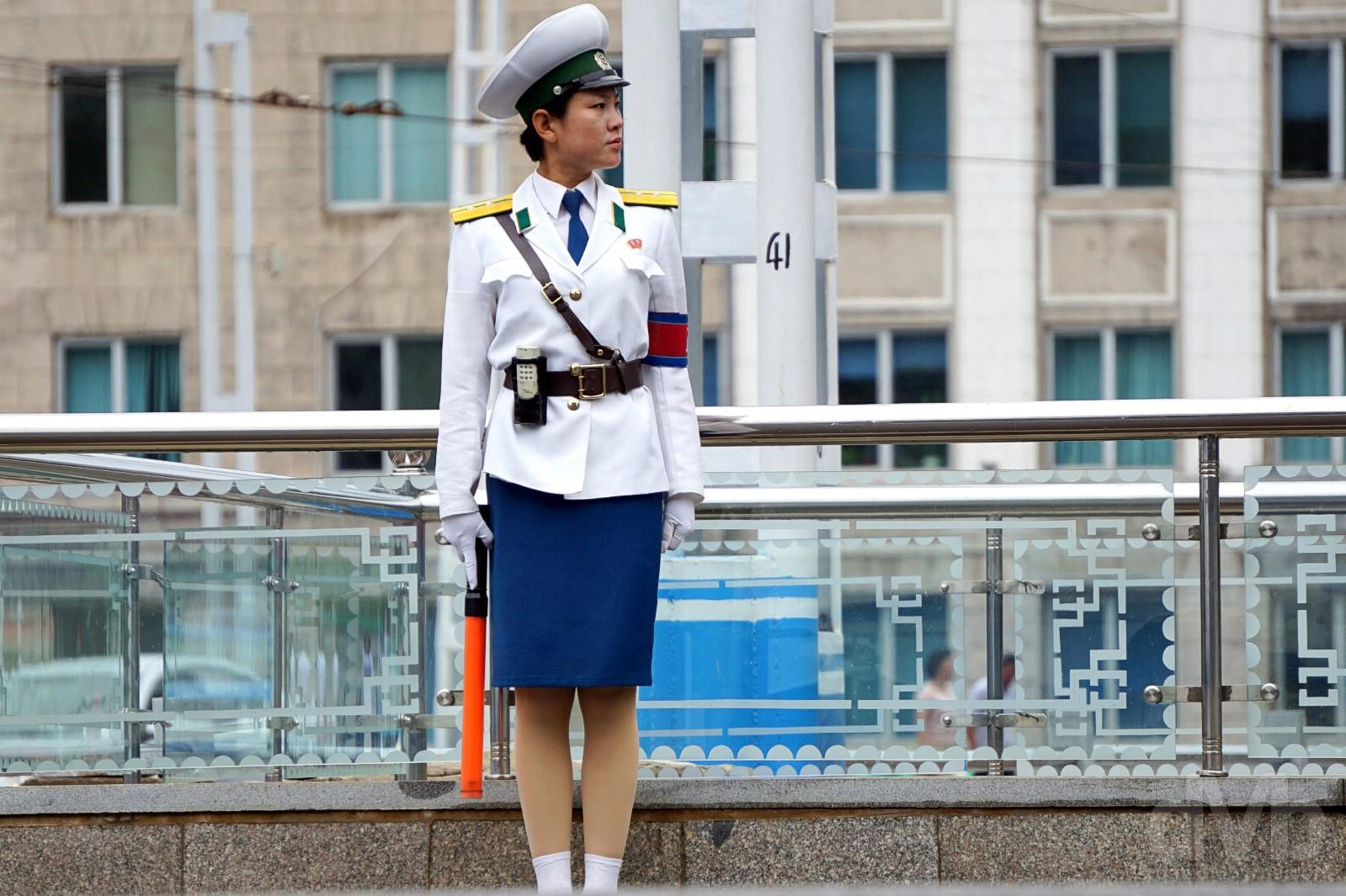 Sungri Street, Pyongyang, North Korea. August 15, 2017.