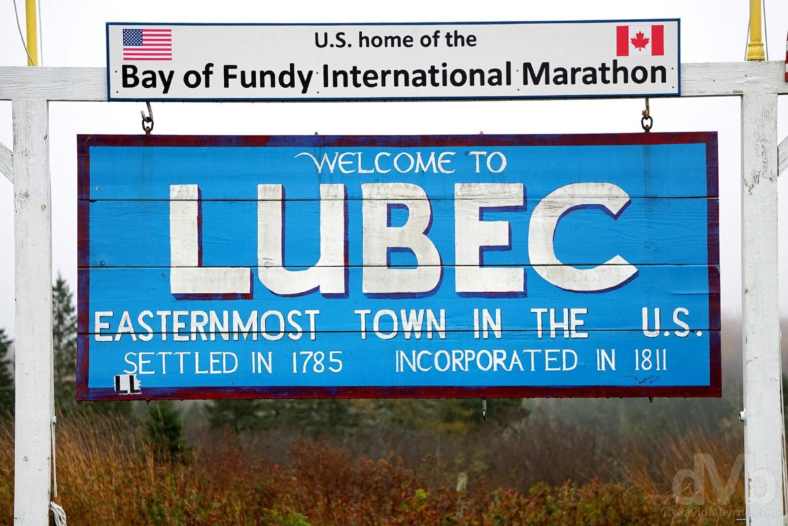 Lubec, Maine. October 26, 2017.