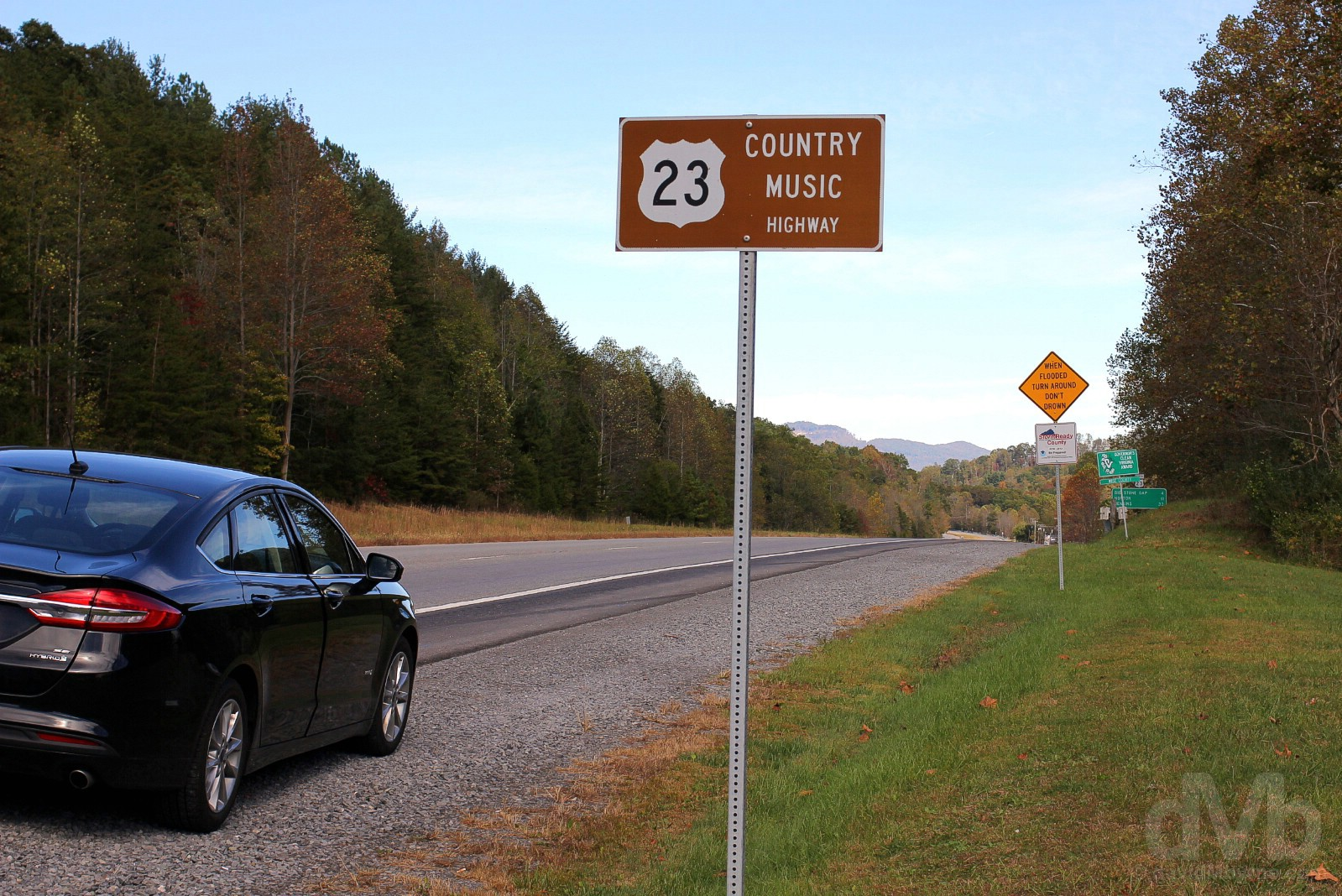 The Country Music Highway, US 23, Virginia. October 18, 2017.