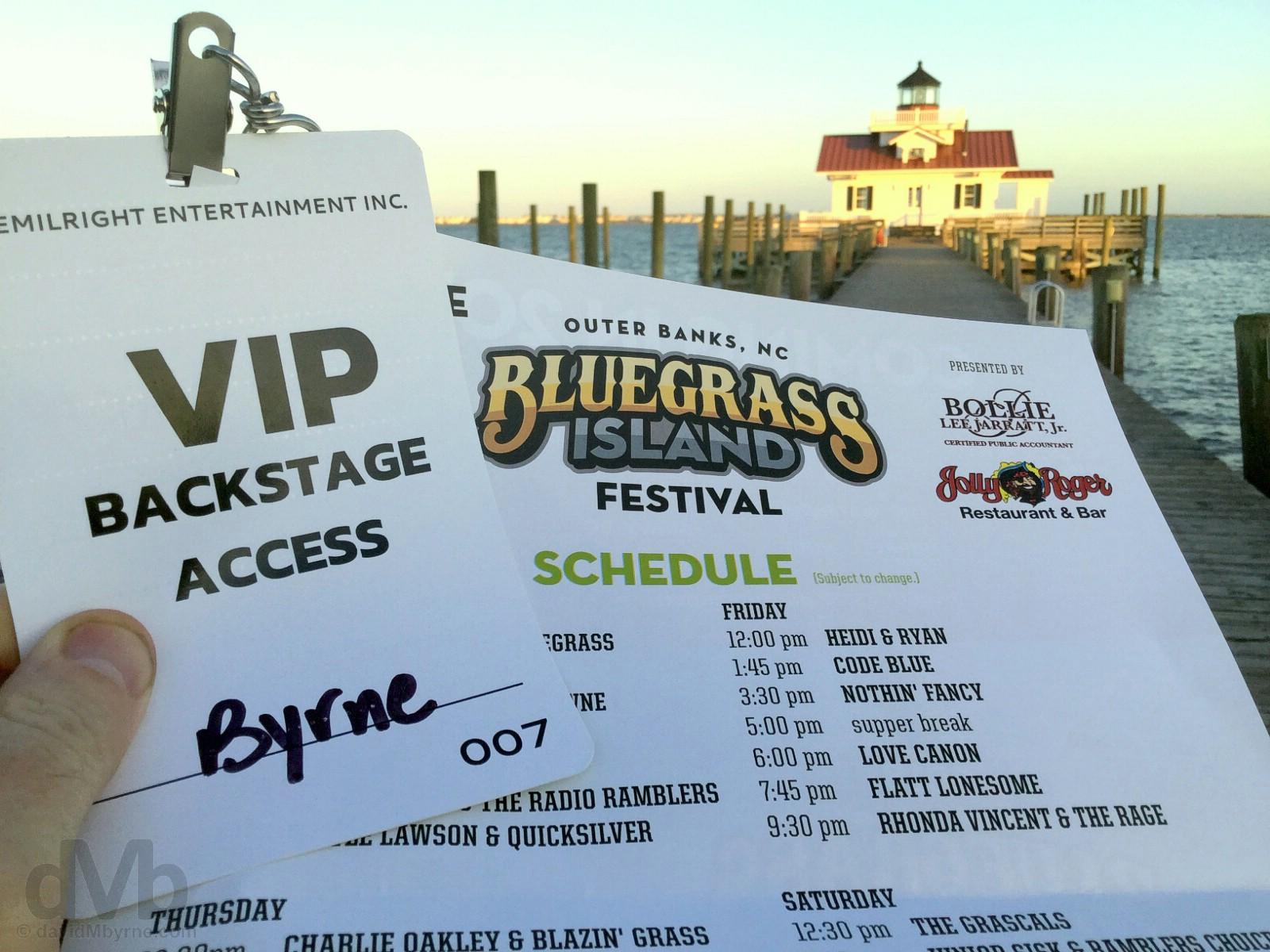 Manteo Outer Banks Bluegrass Festival North Carolina